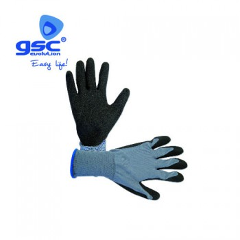 Guantes finos polyester + nitrilo Ref. 3302065-3301868-3302066
