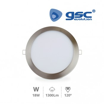 Downlight empotrable LED Olimpia (Ø220x13mm) Ref. 201000024-201000025