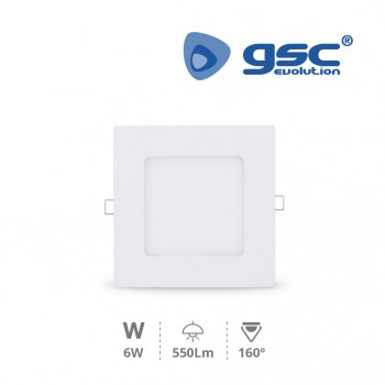 Downlight empotrable LED Nairobi (120x120x13mm) Ref. 000703491-000703492