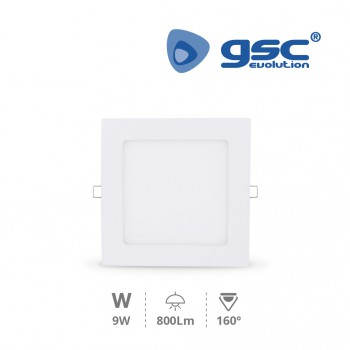 Downlight empotrable LED Nairobi (145x145x13mm) Ref. 000703493-000703494