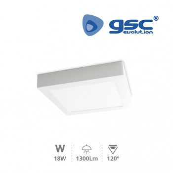 Downlight superficie LED Venice (225x225x32mm) Ref. 201005015-201005016
