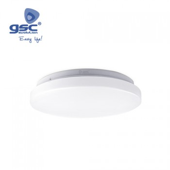 Plafón techo LED Mond (Ø257x65mm) Ref. 000705340-000705341
