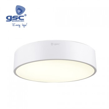 Plafón techo LED Orbed (Ø800x100mm) Ref. 000704785-000704786