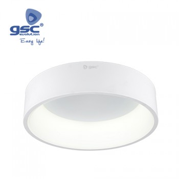 Plafón techo LED Arum (Ø600x130mm) Ref. 000704788-000704789