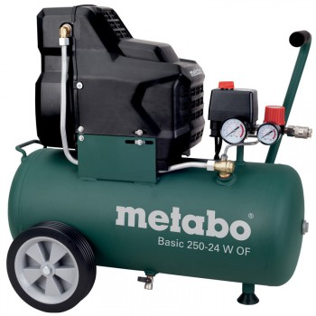 COMPRESOR METABO SIN ACEITE Mod. BASIC 250-24 W OF