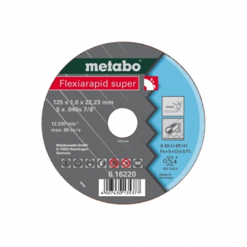 Flexiarapid super 150x1,6x22,23 Inox, TF 41 (616224000)